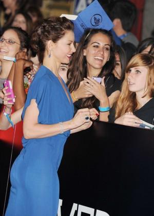 Ashley Judd: Divergent Premiere -01