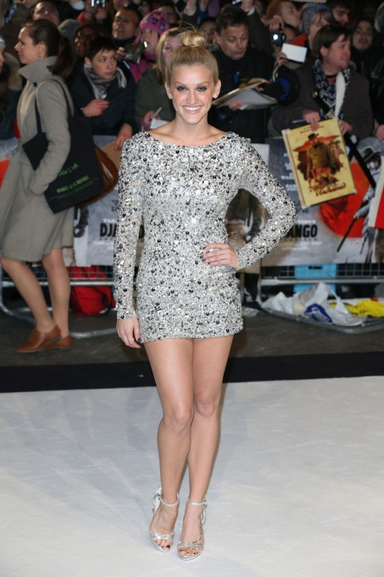 Ashley Roberts - 'Django Unchained' premiere in London 1/10/13