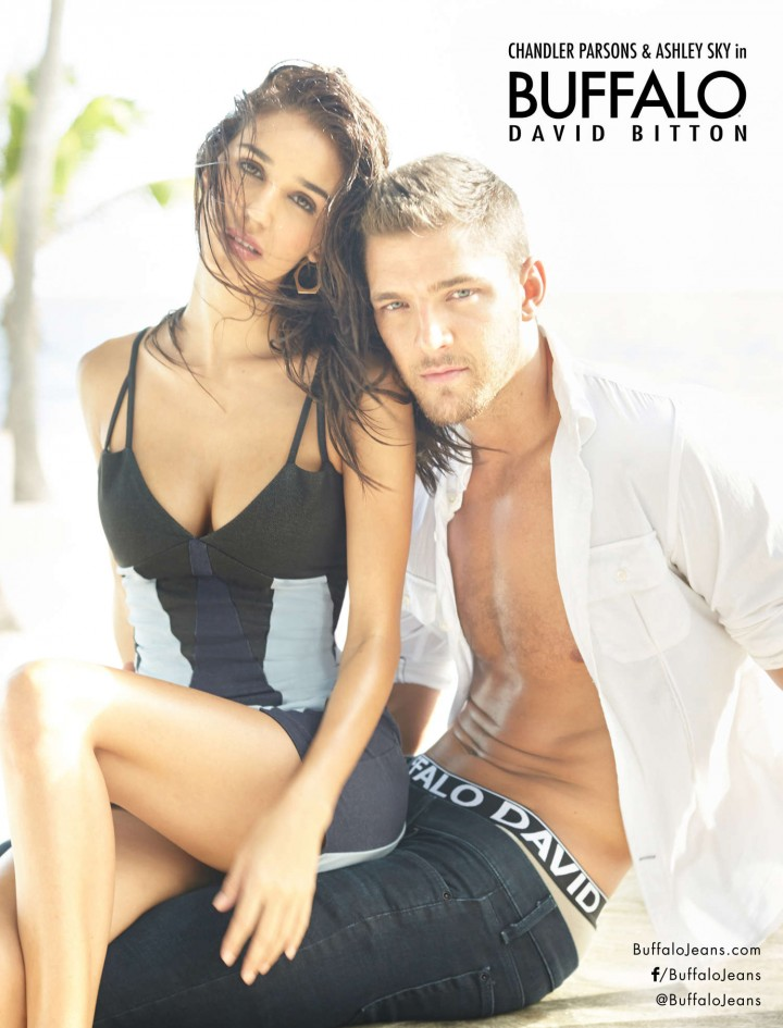 Ashley Sky – Buffalo David Bitton 2014 Campaign
