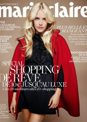 Ashley Smith - Marie Claire France Magazine Cover (December 2014)