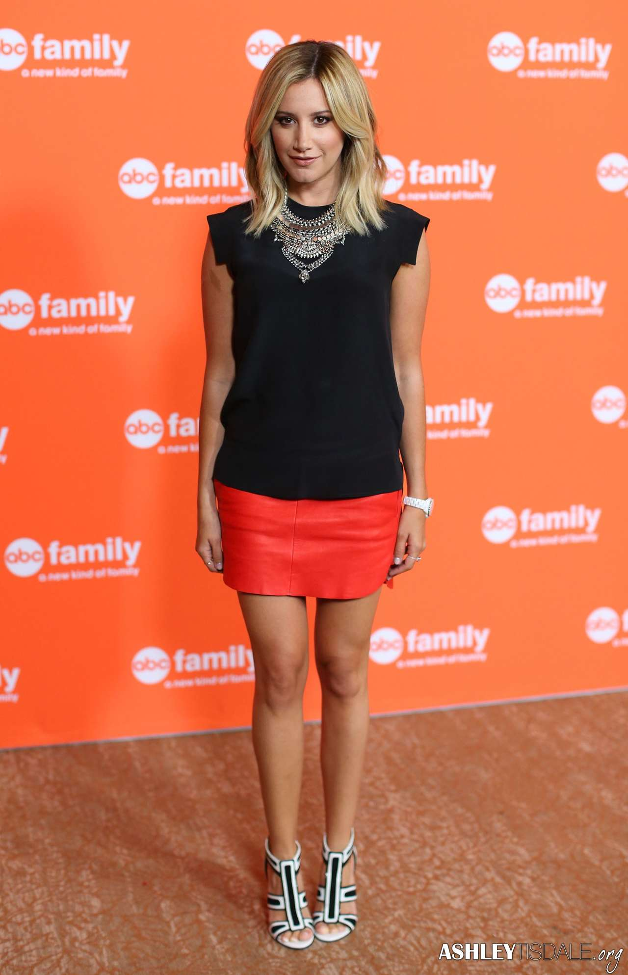 Ashley Tisdale 2014 : Ashley Tisdale at 2014 Disney ABC TCA Summer Press Tour in Beverly Hills -01