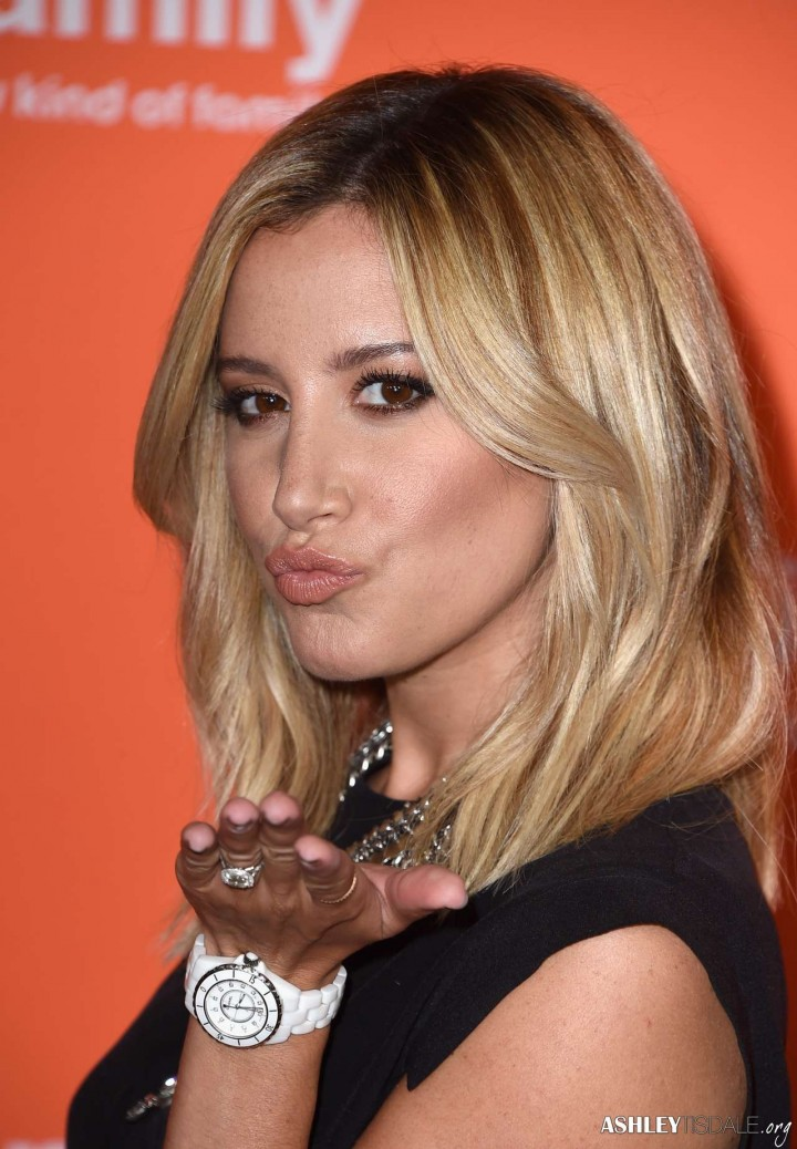 Ashley Tisdale at 2014 Disney ABC TCA Summer Press Tour in Beverly Hills -14