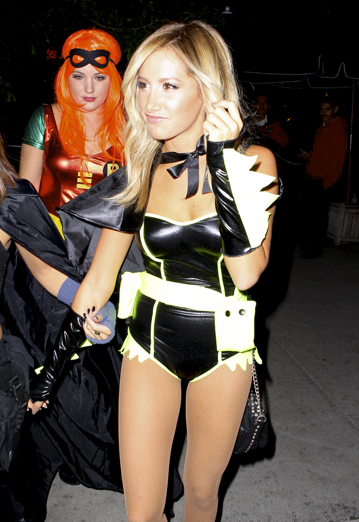 Ashley Tisdale In Halloween Costume at Halloween Party in LA -07