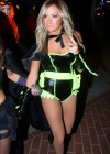 Ashley Tisdale In Halloween Costume at Halloween Party in LA -09