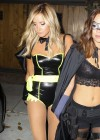 Ashley Tisdale In Halloween Costume at Halloween Party in LA -14