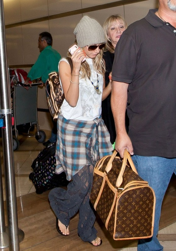 Ashley Tisdale at LAX-05