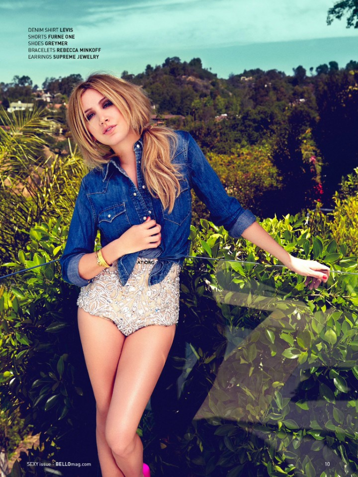 Ashley Tisdale - Bello Magazine (August 2014)
