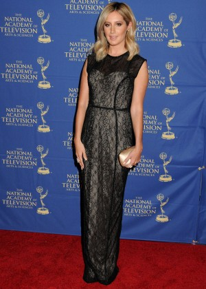 Ashley Tisdale - Daytime Creative Arts Emmy 2014 Awards Gala -01