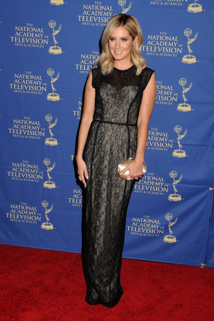 Ashley Tisdale – Daytime Creative Arts Emmy 2014 Awards Gala -05