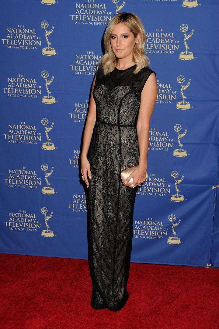 Ashley Tisdale – Daytime Creative Arts Emmy 2014 Awards Gala -06