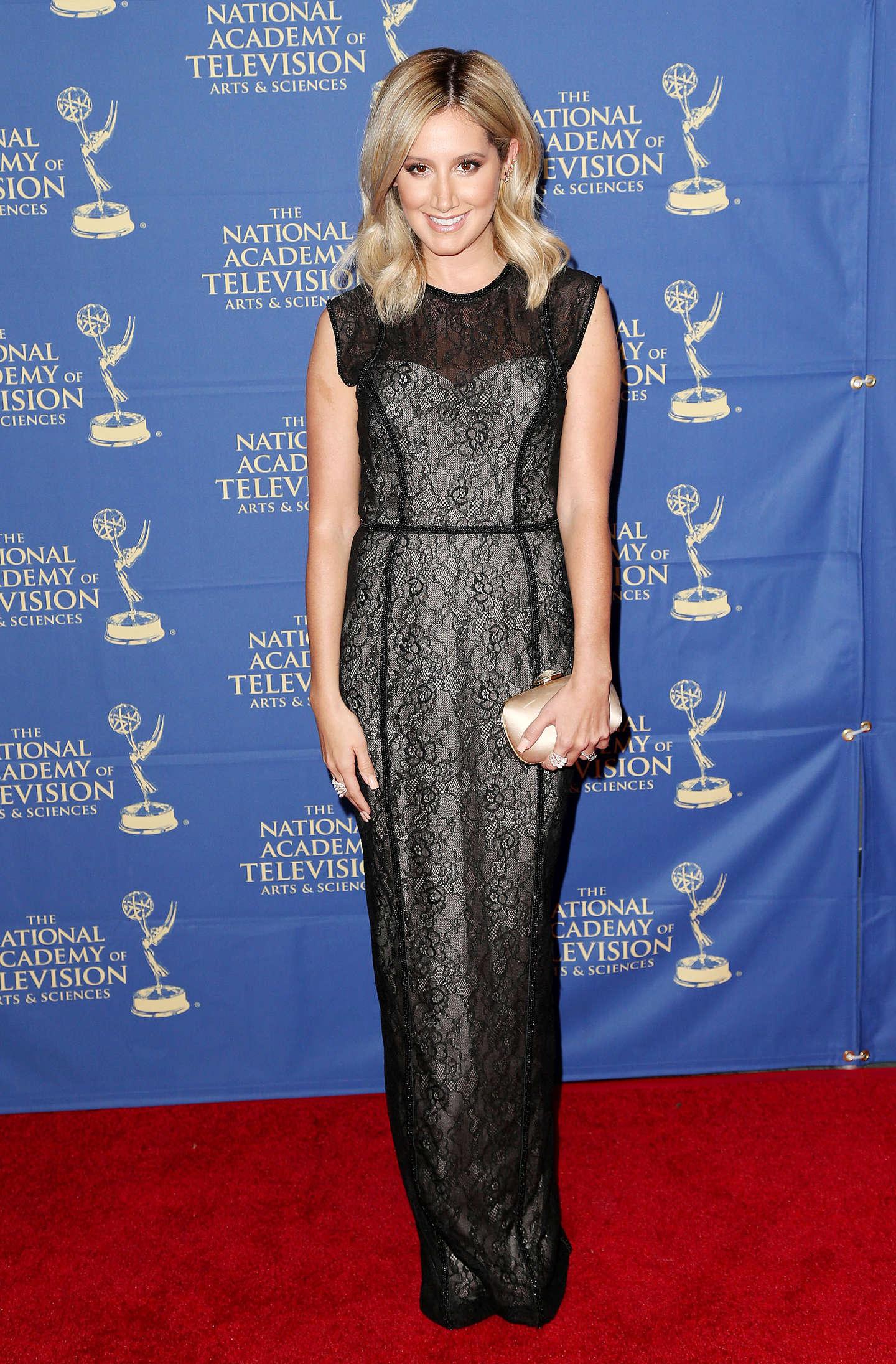 Ashley Tisdale – Daytime Creative Arts Emmy 2014 Awards Gala -09
