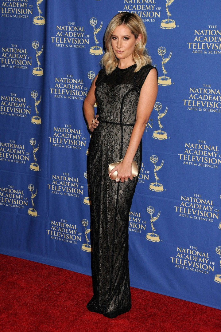 Ashley Tisdale – Daytime Creative Arts Emmy 2014 Awards Gala -10