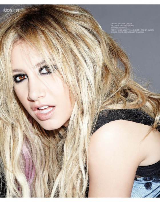 Ashley Tisdale – Icon Magazine -01