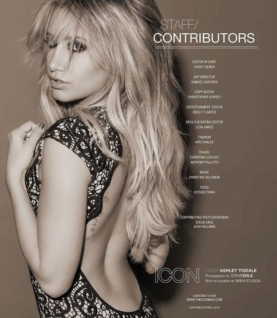 Ashley Tisdale – Icon Magazine -04