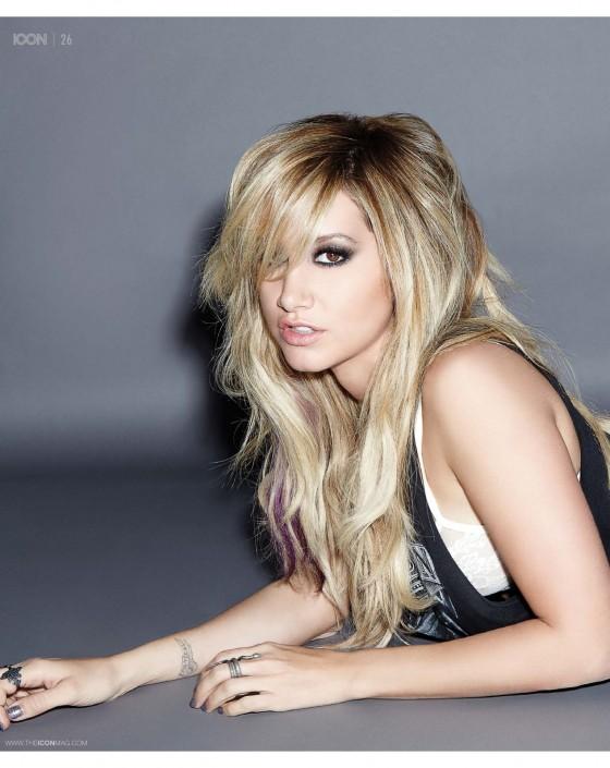 Ashley Tisdale – Icon Magazine -08
