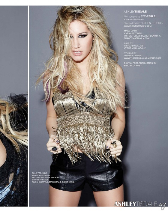 Ashley Tisdale – Icon Magazine -09