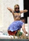 Ashley Tisdale - In a bikini in Mexico -06