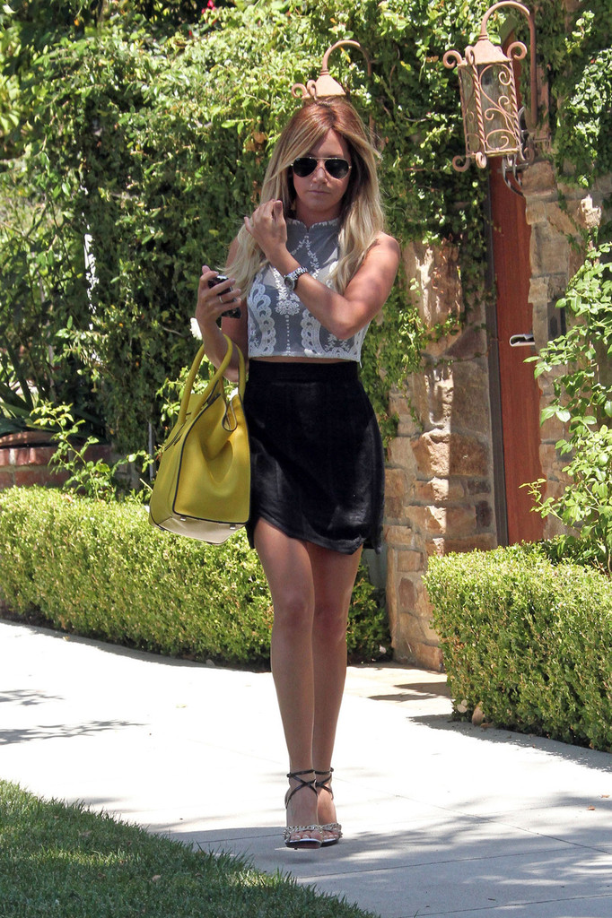 Yet did Ashley tisdale sexy skirt more modest