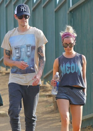 Ashley Tisdale out for a hike at Runyon Canyon -04