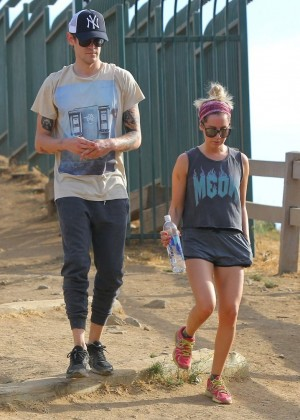 Ashley Tisdale out for a hike at Runyon Canyon -08