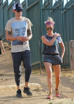 Ashley Tisdale out for a hike at Runyon Canyon -09