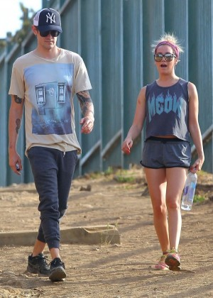 Ashley Tisdale out for a hike at Runyon Canyon -10
