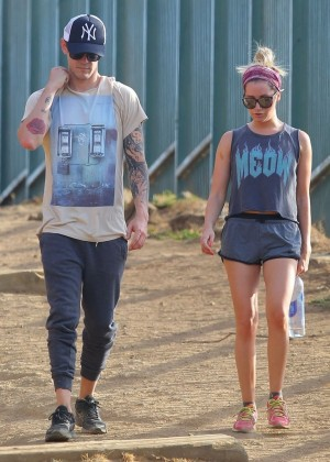 Ashley Tisdale out for a hike at Runyon Canyon -12