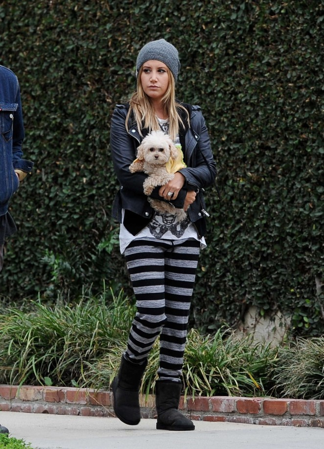 Ashley Tisdale Style - Out and about in LA