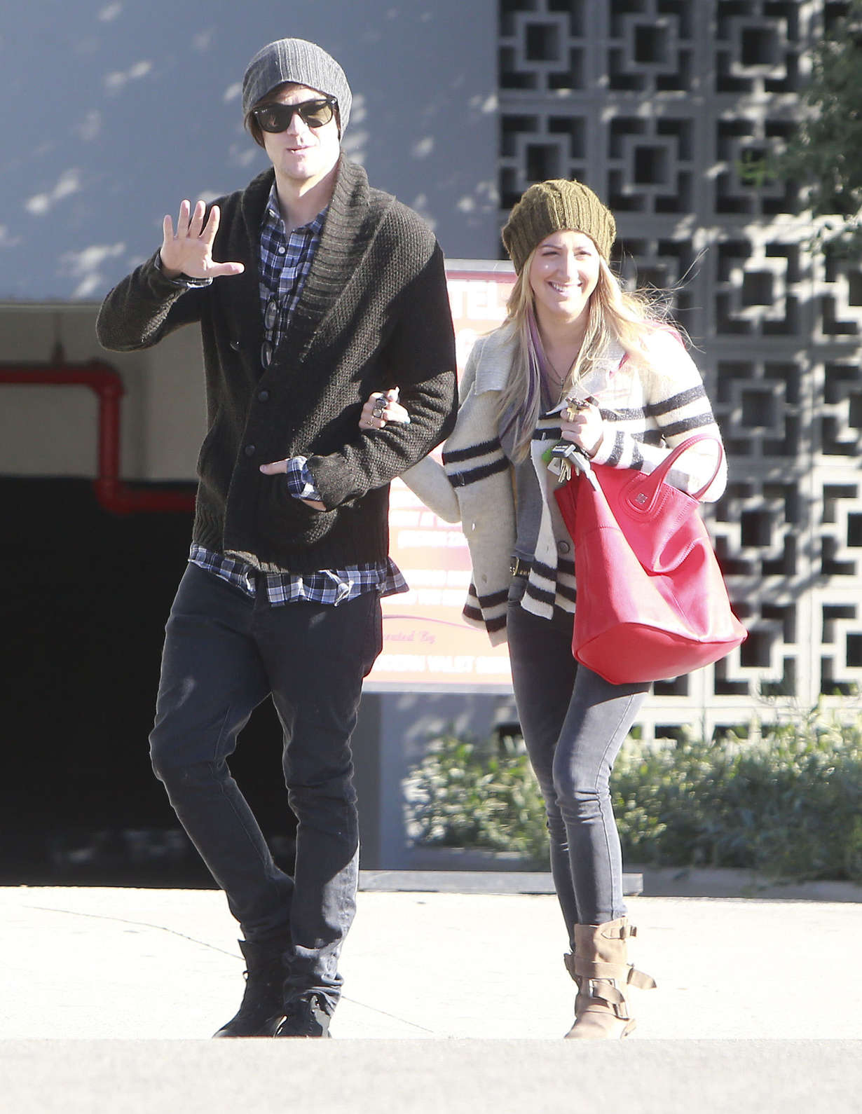 Back to post Ashley Tisdale Out with Her Boyfriend in Hollywood