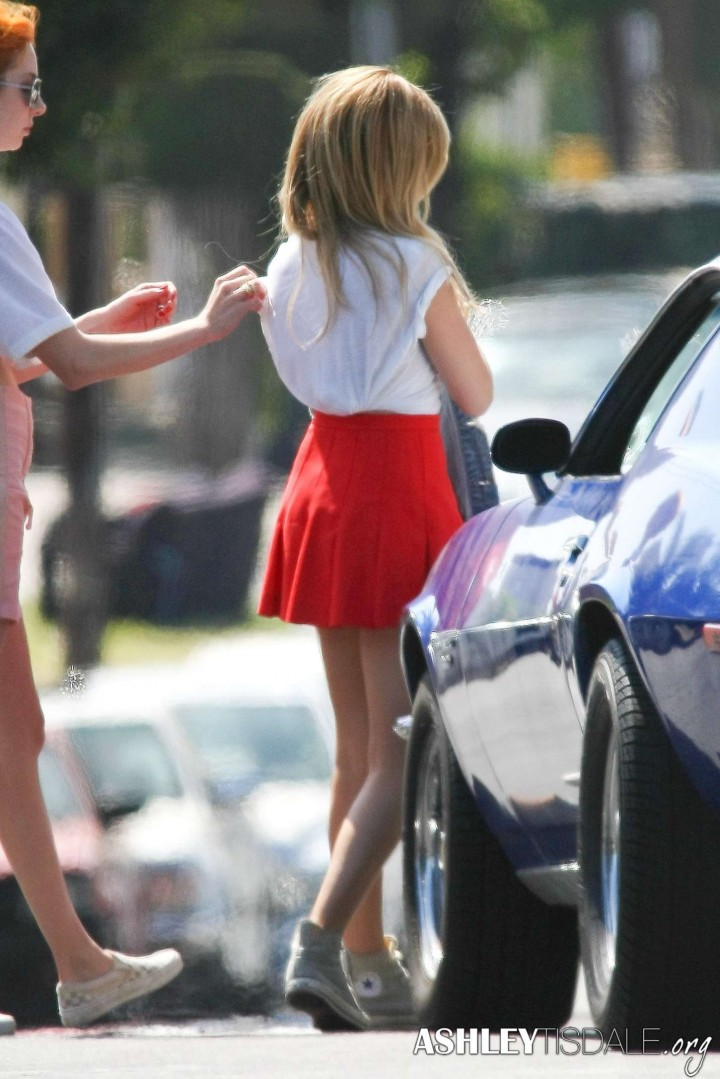 Ashley Tisdale In Mini Skirt 27