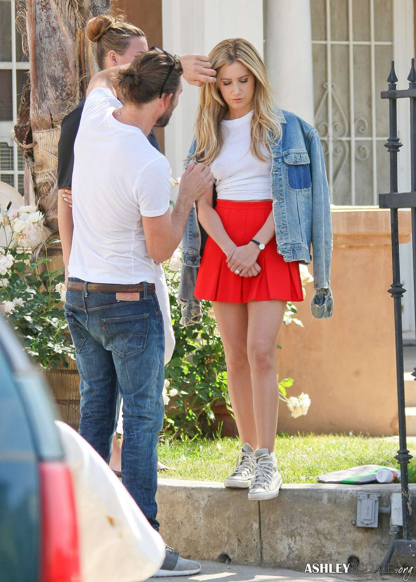 Ashley Tisdale In A Skirt 22