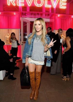 Ashley Tisdale - REVOLVE Pop-Up Launch Party in LA