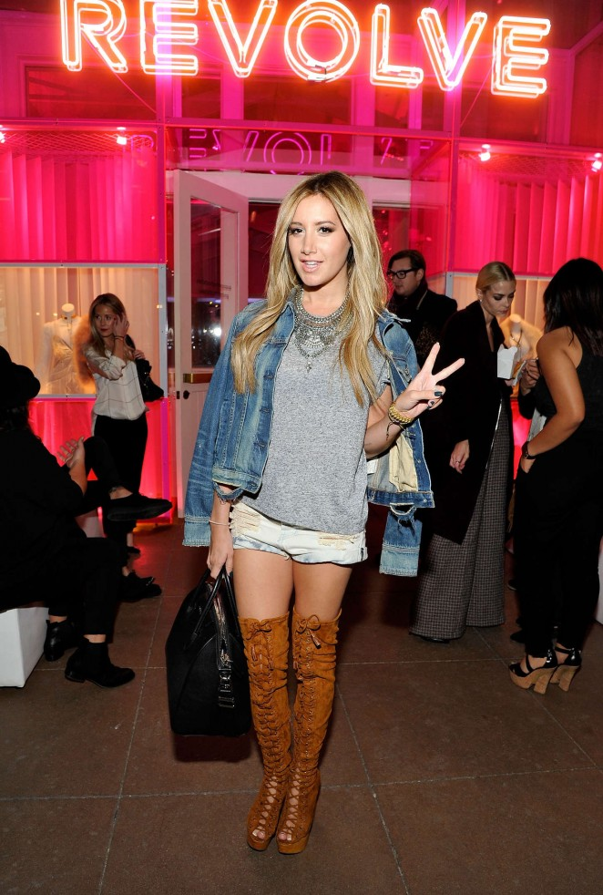 Ashley Tisdale - REVOLVE Pop-Up Launch Party in LA