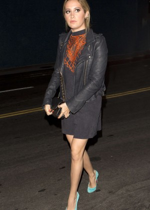 Ashley Tisdale at Rivabella Restaurant -06