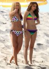 Ashley Tisdale and Sarah Hyland bikini in Venice-02