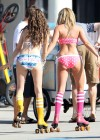 Ashley Tisdale and Sarah Hyland bikini in Venice-08