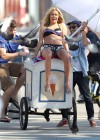 Ashley Tisdale and Sarah Hyland bikini in Venice-10