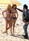 Ashley Tisdale and Sarah Hyland bikini in Venice-13