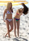 Ashley Tisdale and Sarah Hyland bikini in Venice-14