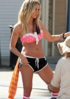 Ashley Tisdale and Sarah Hyland bikini in Venice-15