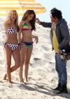 Ashley Tisdale and Sarah Hyland bikini in Venice-20