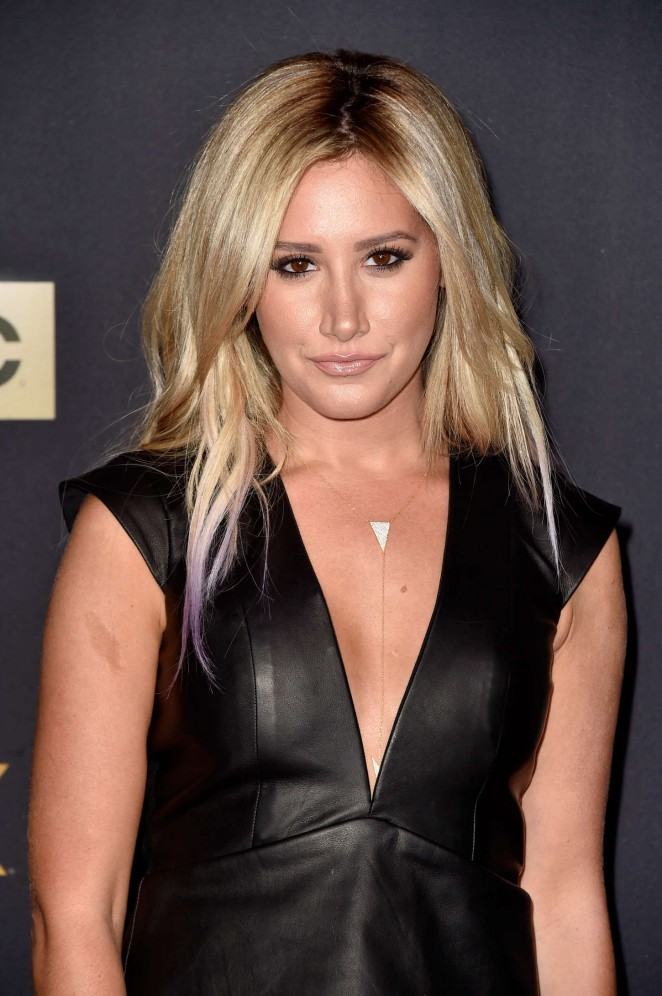 "Ashley Tisdale - ""The Walking Dead"" Season Five Premiere in Universal City"
