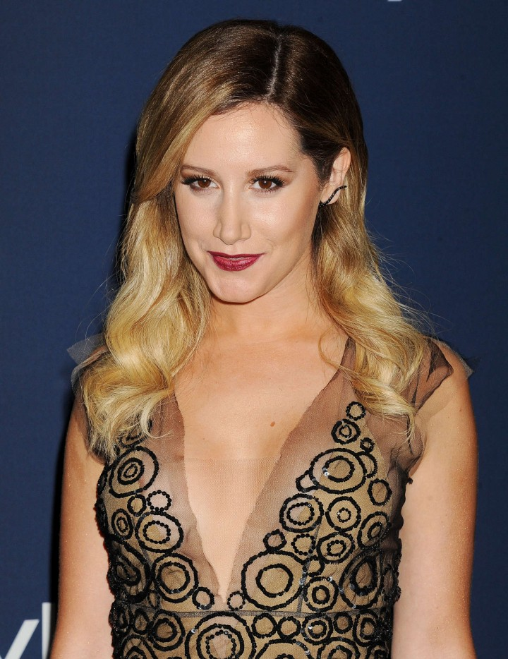 Ashley Tisdale: 2014 Golden Globe after party -06