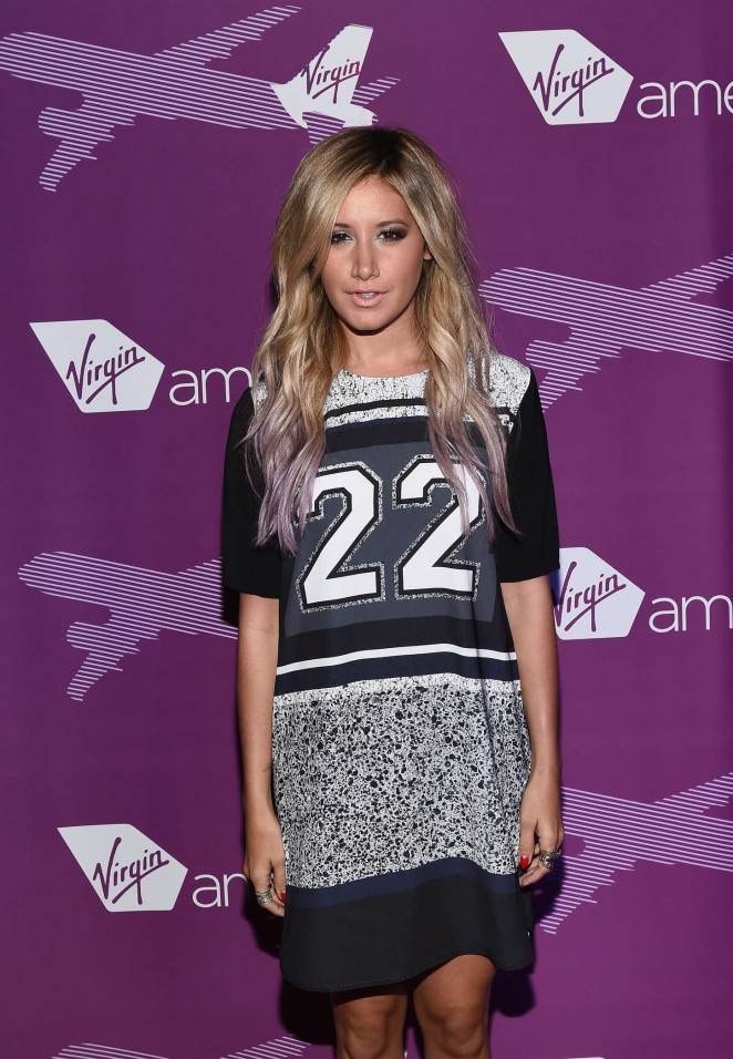 Ashley Tisdale - Virgin America Dallas Love Field Launch Celebration in Dallas