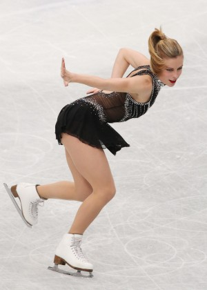 Ashley Wagner: 2014 ISU World Figure Skating Championships -05