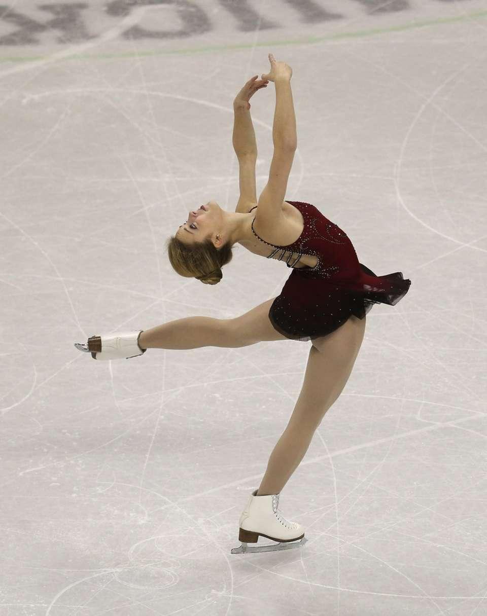 Figure skater Ashley Wagner poses naked ESPN   Mail Online