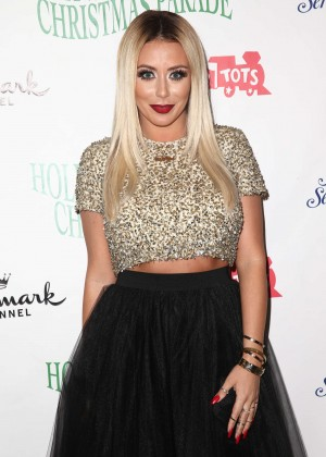 Aubrey O'Day - 83rd Annual Hollywood Christmas Parade in Hollywood