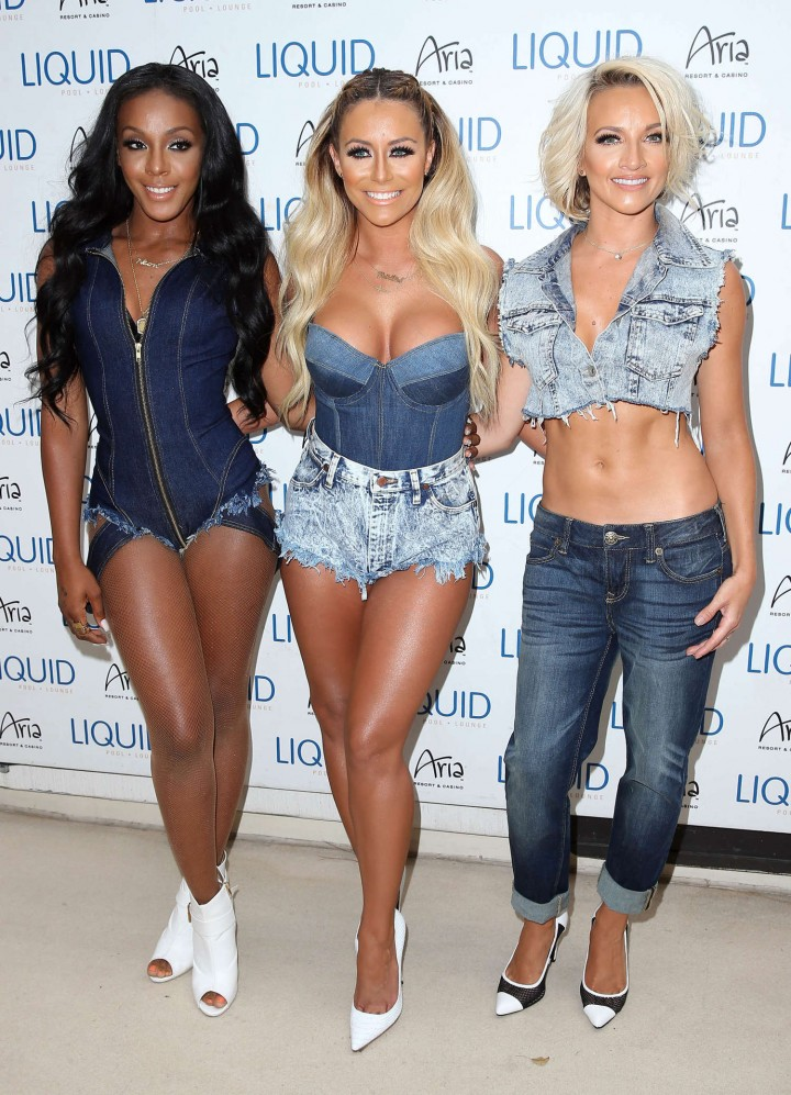 Aubrey O Day and Danity Kane – Liquid Pool Party in Las Vegas