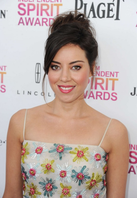 Aubrey Plaza – 2013 Film Independent Spirit Awards -03