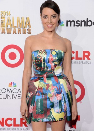 Aubrey Plaza - 2014 NCLR ALMA Awards in Pasadena